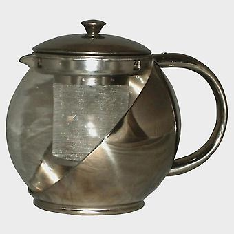 New Quest Stainless Steel Teapot Natural