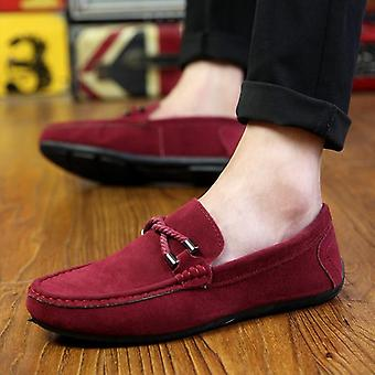 Spring & Summer Men's Loafers, Comfortable Flat Shoes