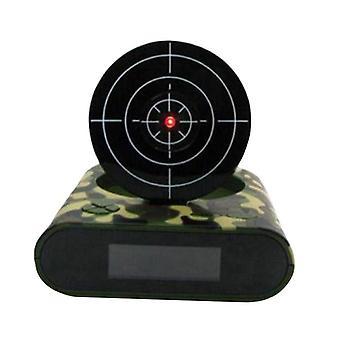 Creative Lazy Led Display Digital Mute infrarød induktion Target Shooting Alarm