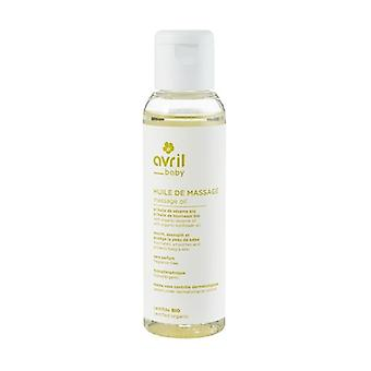 Baby massage oil - certified organic 100 ml of oil