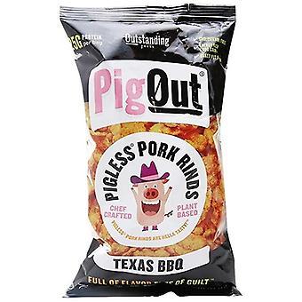חזיר החוצה טקסס BBQ חזיר ללא חזיר קליפות