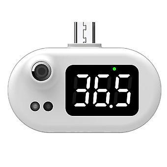 Smart mobile phone thermometer led digital display temperature gauge (type c) mini portable temperature measurement tool