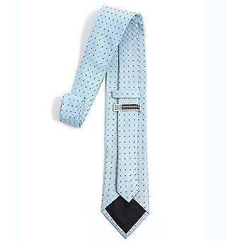 Mens Classic Solid Color Slim Tie, Heren's Stropdassen, Skinny Geweven Dunne Banden