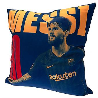 FC Barcelona Lionel Messi Filled Cushion