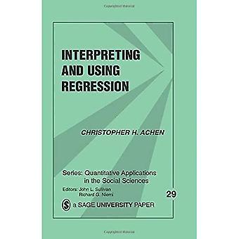 Tolkning og brug af regression (kvantitative anvendelser i samfundsvidenskaberne)