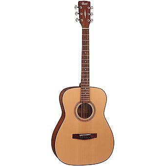 Cort 6 snarige akoestische gitaar, rechtshandig, concert (af505 op)
