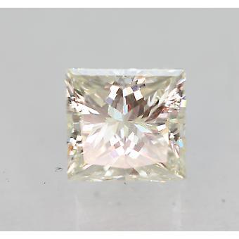 Sertifioitu 0,55 karat I VVS1 Princess Enhanced Natural Diamond 4.61x4.4mm 2EX