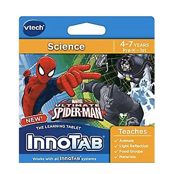 Vtech innotab ultimata spiderman science learning programvara