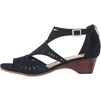 Bella vita kvinnors Penny cutout sandal med rygg blixtlås Heeled