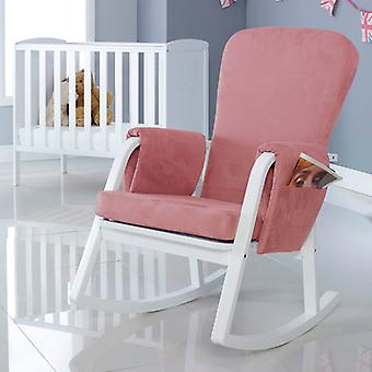 Ickle Bubba Dursley Chaise berçante - Blush Pink