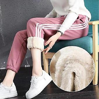 Winter Lamb Wool Thick Warm Pants