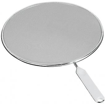 spray protection cover Fritto 26 cm steel silver