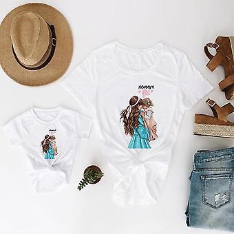 Äiti ja tytär vaatteet, Super Baby t-paita