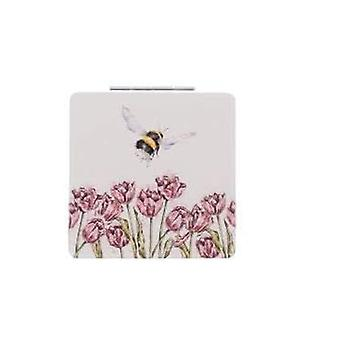 Wrendale Compact Mirror Bumble Bee Design