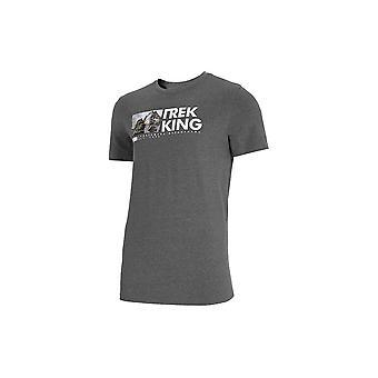 4F TSM060 H4L21TSM060REDNISZARYMELAN universel hele året mænd t-shirt
