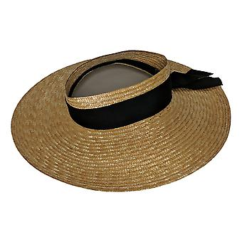 Martha Stewart Women's Hat Open Crown Gold A429567