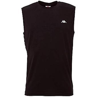 Kappa GIBRIL, T-shirt för män, 19-4006 Kaviar, S