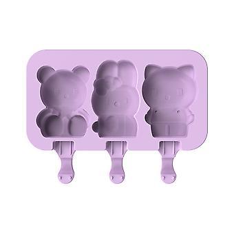 YANGFAN Silicone Ice Pop Molds DIY Ice Cream Molds