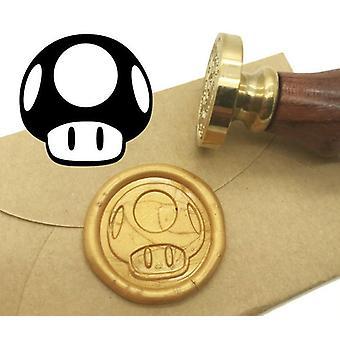 Mushroom Wax Seal Stamp Kit Wedding Invitation Sealing Wax Stamp
