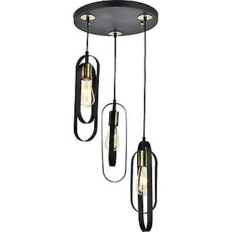 Home Esse Black Tray Pendant Lamp Chandelier