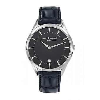 Men's Watch 8660681NIN - Black Leather