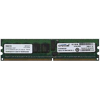 Crucial  - 1GB 240PIN DDR2 PC2-5300 ECC - CT12872AB667S