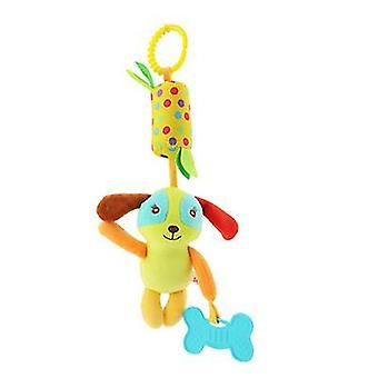 Dog animal wind chime bed pendant, wind chime with teether car decoration az6190