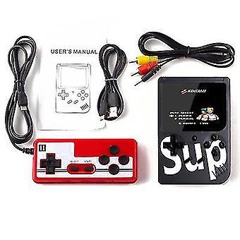 Kaksinkertainen kahva musta kädessä pidettävä peli consoleretro mini peli 400 klassinen fc pelejä 2,8 tuumaa x7151