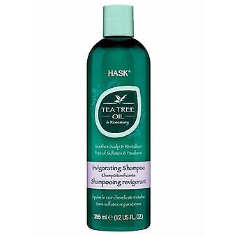 Shampoo HASK Rosemary Green Tea (355 ml)