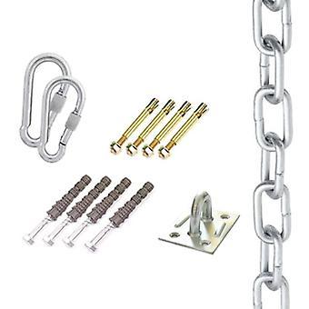 Kit de montage pour chaise suspendue hamac &swing – Jusqu'à 500 kg