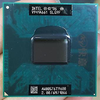 nouveau t9600 2 duo cpu 6m cache 2.8ghz 1066 dual core ordinateur portable socket sm46935