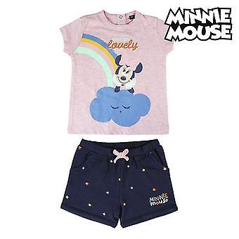 Set kleding Minnie Mouse Roze Marineblauw