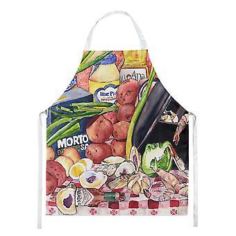 Tesoros de Caroline 8825-1APRON Gumbo y delantal de ensalada de patatas, grande, multicolor