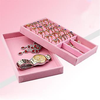 3Pcs 21 * 12.5cm Small Jewelry Tray Jewelry Box Storage Display