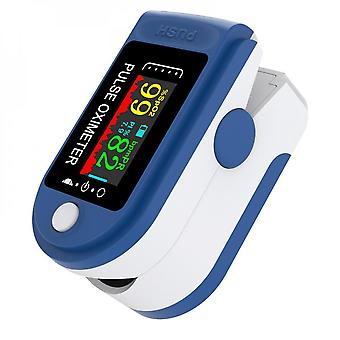 Pulse Oximeter Blood Oxygen Saturation Heart Rate Spo2 Monitor With Lanyard
