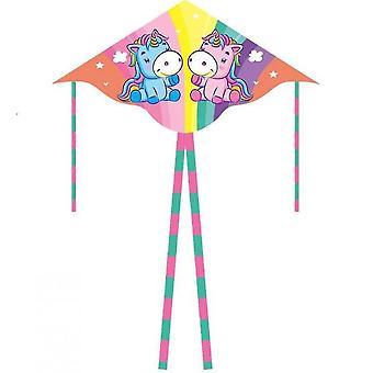 Desene animate pentru copii cu coadă lungă Zmeu cu coadă dublă (Color3)