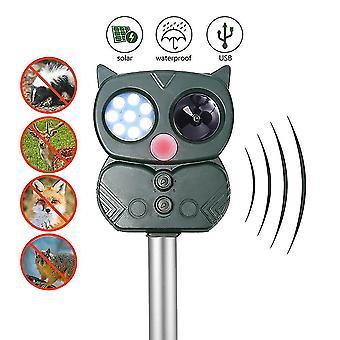 התקן נהיגה בבעלי חיים חיצוני אנרגיה סולארית דוחה USB עכבר גורש מכונה
