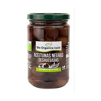 Pitted svarta oliver 280 g
