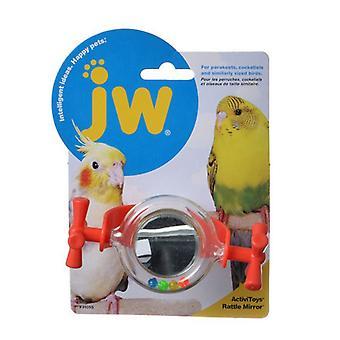 JW Insight Rattle Mirror Bird Toy - Rattle Mirror Bird Toy