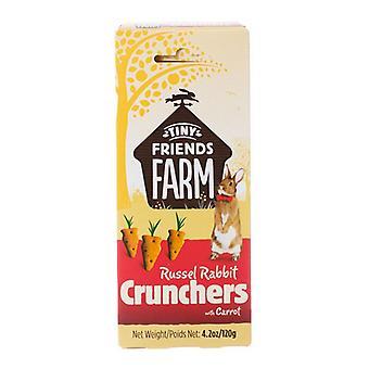 Tiny Friends Farm Russel Rabbit Crunchers with Carrot - 4.2 oz