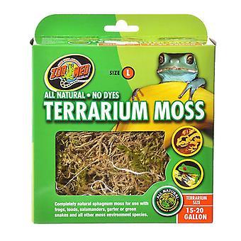 Zoo Med All Natural Terrarium Moss - 15 - 20 Gallons