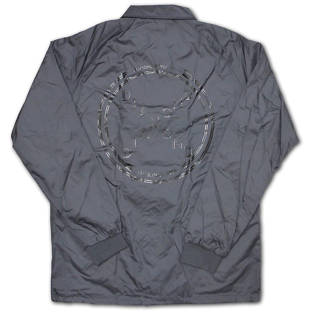 Diamond forsyning Co krysset opp Coach jakke grå
