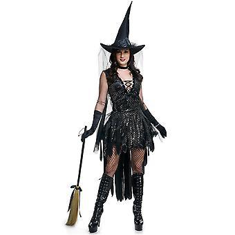 Halloween Juego de brujas Uniforme de brujas Uniforme de bruja Club nocturno Bar Disfraz de actuación de bruja