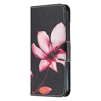 Couverture magnétique pour iphone 12 Pro Max Pattern Lotus