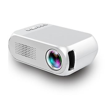 Mini Projector Home Hd 1080p Portable Home Led Projector,black