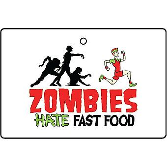 Zumbis odeiam refrogerador de ar do carro de Fast-Food