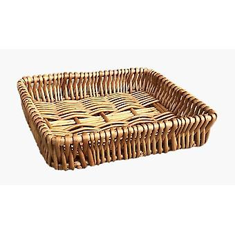 Small Shallow Wicker Tray