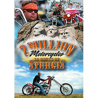 2 Million Motorcycles 24 Hours of Sturgis [DVD] USA import