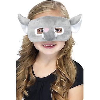 Elephant mask children animal mask elephant mask eye mask plush children costume