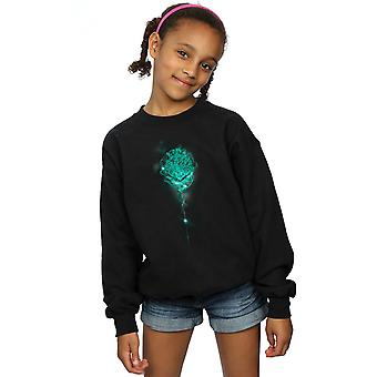 Harry Potter Girls Hogwarts Crest Mist Sweatshirt